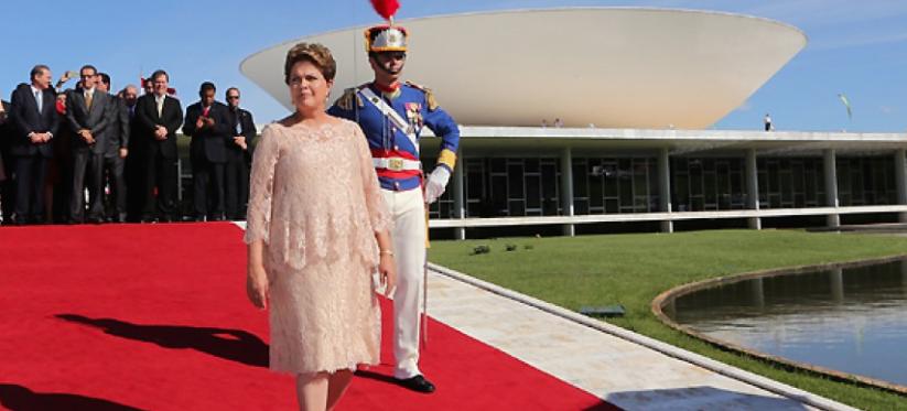 Presidente Dilma em sua posse