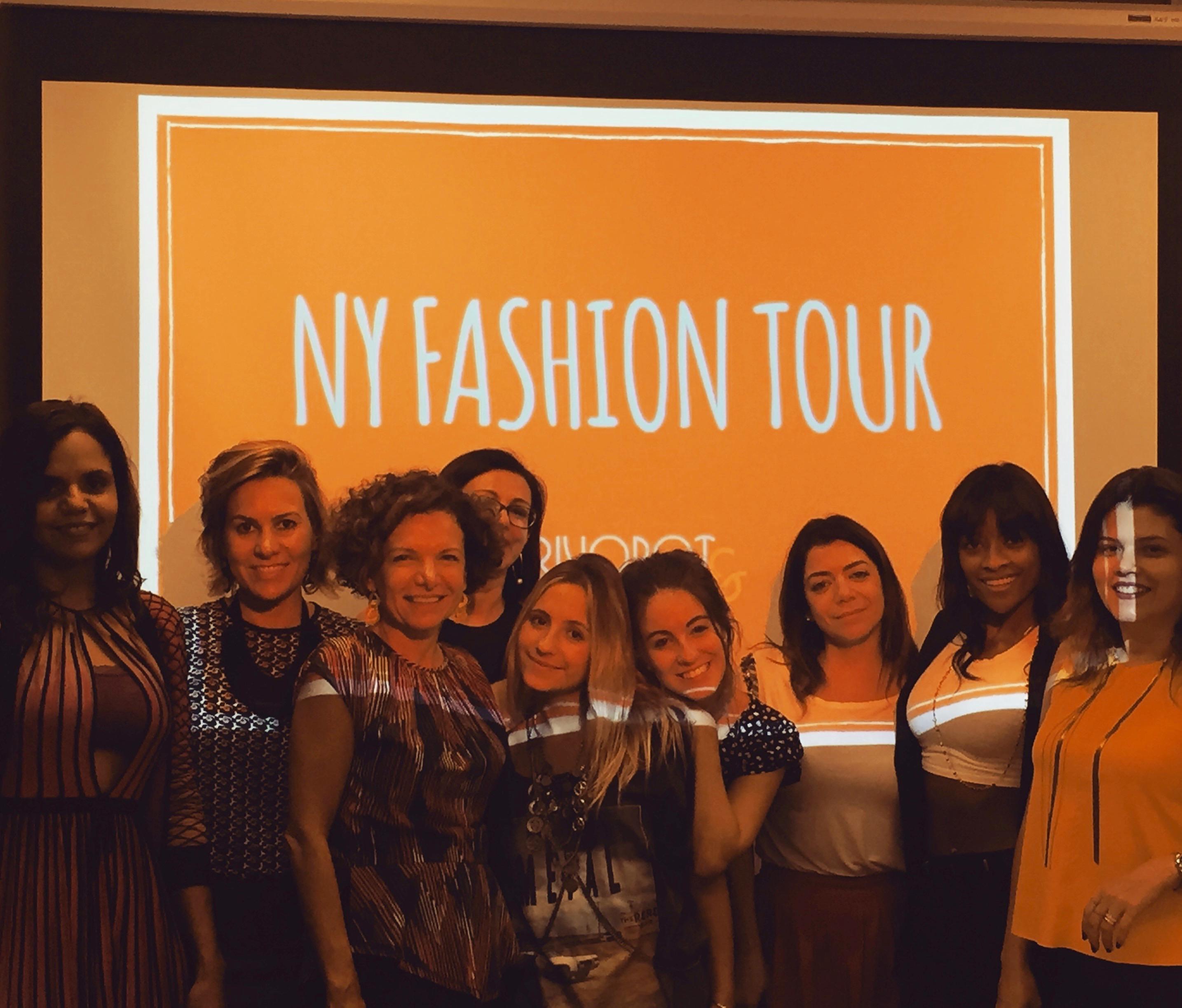 Primeiro NY Fashion Tour - Setembro 2015 - Curso de Moda em Nova York - FIT - Crivorot Scigliano