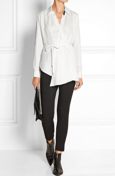 camisa branca-Crivorot Scigliano